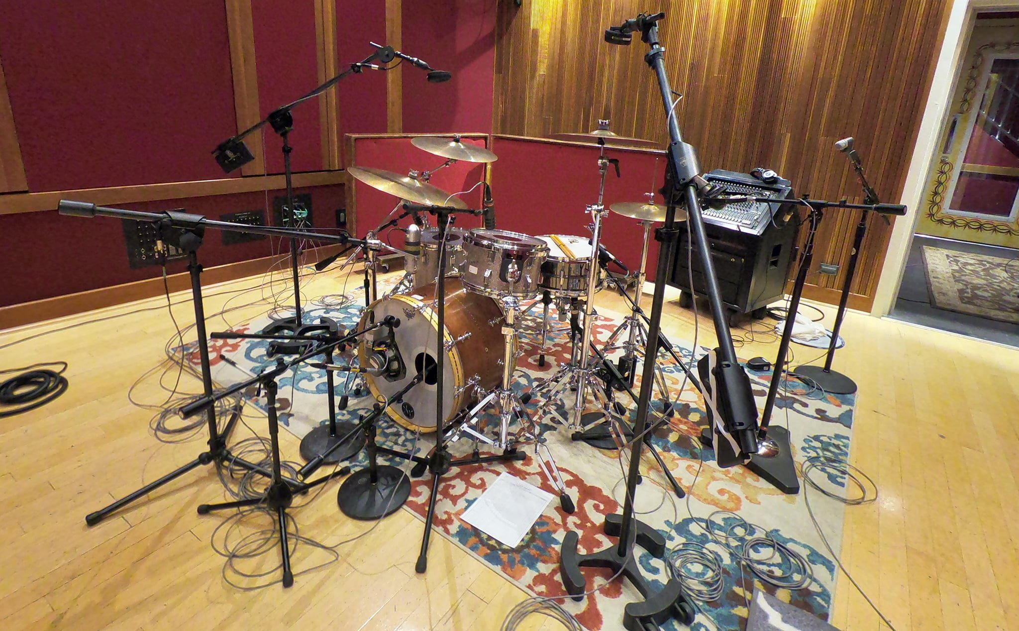 drums in blackbird studio a